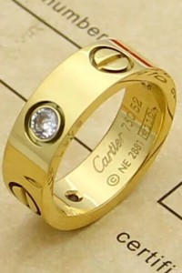 Cartier, Unisex Ring, Gold
