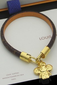 Louis Vuitton, Unisex Bracelet, Brown